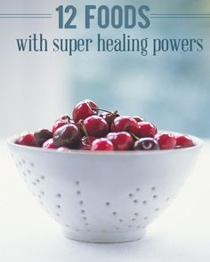 12 foods with super healing powers