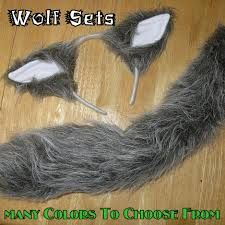 wolf tail costume - Google Search Girl Costumes, Costumes For Women, Halloween Costumes, Halloween Ideas, Costume Ideas, Werewolf Costume, Wolf Tail, Arctic Wolf, Image
