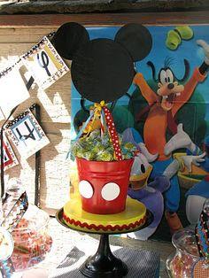 Cute Mickey Centerpieces