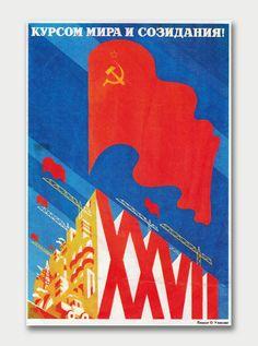 Soviet USSR Propaganda Posters | InspireFirst