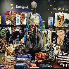 Summer mood! #Desigual  #summer #fashion #store #corner #colour #colorfull #apparel #bags #shoes #dress #stylish #style #summermood
