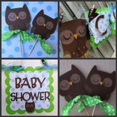 Handsome Hoot Welcome Baby Boy Shower banner by BellaBabyToppings, $73.00