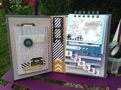 Mini Album {Touriste au Havre} Crop de Julie Blanc - Le scrap d'Opsite