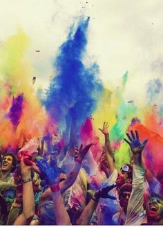 Tomorrowland Madness, neon splash and electric playground in colour also look awesome