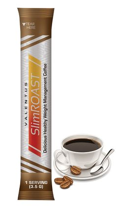 SlimROAST™ Brazilian | Valentus Products Formulated with natural appetite suppressants, feel good ingredients and detox components SlimROAST Brazilian is a great addition to your weight management program. Not only will you find managing your weight with SlimROAST will produce exciting results, but you will love the taste of this delicious Brazilian dark roast coffee.