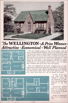1935 Liberty Homes Lewis Manufacturing The Wellington