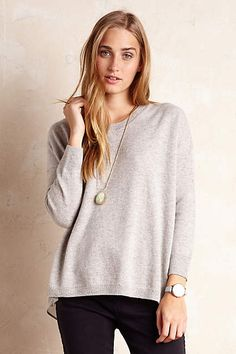 Anthropologie EU Clementine Cashmere Pullover. Buckinghamshire-based brand Needle creates luxury knitwear with playful pops of colour and texture. The result? Classic, wearable, sumptuously soft pieces perfect for every season.