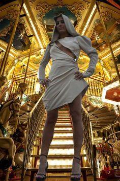 Insta Photo, Outfit, Pamela, The Secret, Designer, High Neck Dress, Beige, Street Style, Pretty