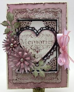 Gini Gagle for Heartfelt Creations | Heart Memories using the Sweet Juliet collection; Nov 2013