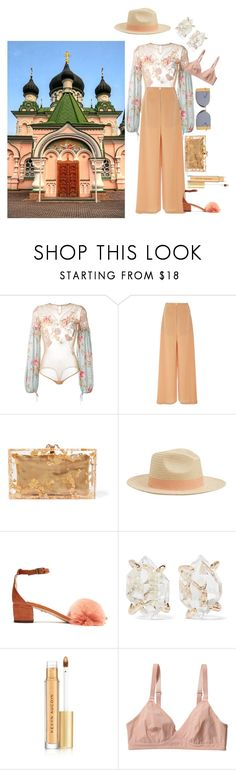 """""""Untitled #776"""" by vinny1108 ❤ liked on Polyvore featuring Amen, Adeam, Charlotte Olympia, MANGO, Brother Vellies, Melissa Joy Manning, Kevyn Aucoin, Monki, Calvin Klein 205W39NYC and ukraine"""