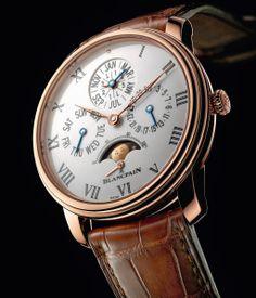 Blancpain -Villeret Quantième Perpétuel 8 Jours- ==>more info at: http://www.gmtmag.com/?lang=en  ==>Follow us on fb: https://www.facebook.com/GMTMagazine?ref=aymt_homepage_panel