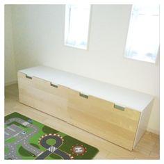 『IKEA  子供部屋収納』