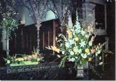 Church Flower Arranging