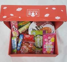 Today we received My Japan Box, food box for May 2018. It was amazing! Check out our review below  #myjapanbox #food #subscriptionboxaustralia #subscriptionboxaddicts #subscriptionboxau #subscriptionboxaus #japan #snacks #candy Food Box, Food Reviews, Subscription Boxes, Recipe Box, Lunch Box, Australia, Japan, Candy, Snacks