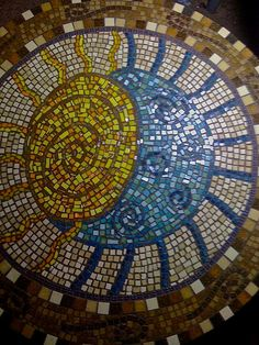 Hey, I found this really awesome Etsy listing at https://www.etsy.com/listing/109899459/custom-sun-and-moon-mosaic-turn-table