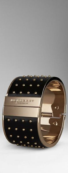 black and gold arm cuff