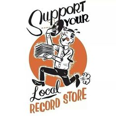 .. Support Your Local Record Store. #music #quotes #records #vinyl #recordstore #musicquotes http://www.pinterest.com/TheHitman14/music-quotes-%2B/