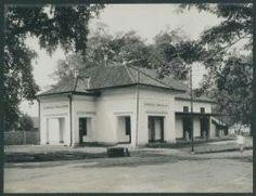 Het pand van de Bandoengsche Afdeelingsbank te Bandoeng 1920