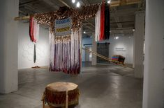Installation view of Monarchs at the Bemis Center for Contemporary Arts