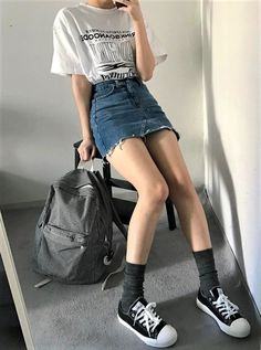 Gorgeous 25 Inspiring Outfit Ideas with Skort from https://www.fashionetter.com/2017/06/01/25-inspiring-outfit-ideas-skort/