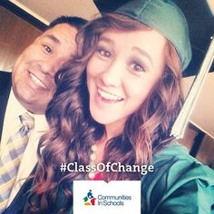 You made it @tomi_marie_helms! Tag your graduation photos and videos #ClassofChange! http://www.communitiesinschools.org/