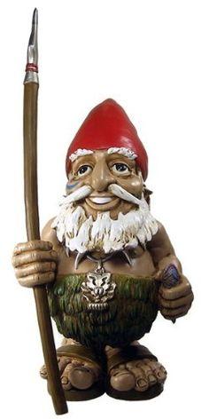 """Tiki Garden Gnome 4"""" by GardenGnomeWorld.com, http://www.amazon.com/dp/B0045SVVU6/ref=cm_sw_r_pi_dp_i4fbsb1G46HCG"""