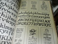 Lettering Poster Design For Pen And Brush.ross F. George