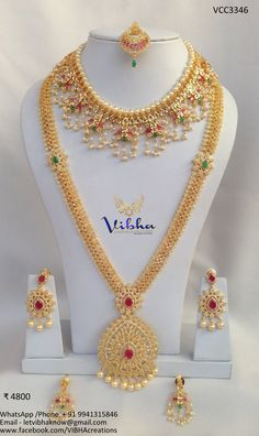 Bridal Jewellery Inspiration, Indian Bridal Jewelry Sets, Bridal Jewelry Vintage, Gold Earrings Designs, Gold Jewellery Design, Gold Jewelry, Necklace Designs, Ring Designs, Gold Necklace
