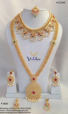 Bridal Jewellery Inspiration, Indian Bridal Jewelry Sets, Bridal Jewelry Vintage, Gold Jewellery Design, Gold Jewelry, Gold Necklace, Ruby Necklace Designs, Jewelry Patterns, Fashion Jewelry
