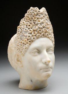 Head of a Woman, 95/99 CE Unidentified Maker, Roman