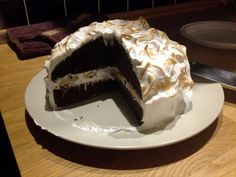 S'more inspired cake / Ciasto S'more