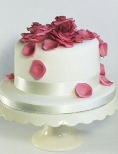 Znalezione obrazy dla zapytania birthday cake roses