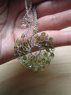 Complete the pendant by adding a jump ring and some chain (or a ribbon).