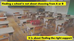 Why finding the right school is so important to us