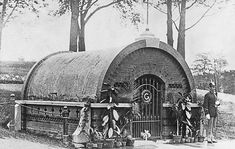 The original tomb of General Grant, Riverside Park, New York City, 1885 [Image courtesy the Library of Congress]