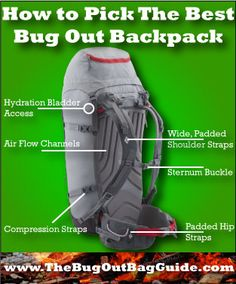 How To Pick The Best Backpack For Your Bug Out Kit