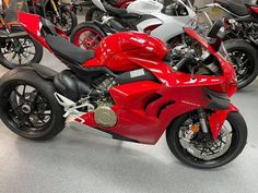 Year after year, the Panigale V4 is renewed to become faster and more exciting on the track for both the amateur and the professional rider. #Ducati #StreetBikes #2021PanigaleV4 #OnSale Ducati Motorcycles, Street Bikes, Track, Runway, Truck, Running, Road Bike, Track And Field