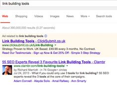 Clambr Ranks Number One for Link Building Tools