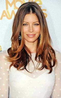 Jessica Biel, always a natural beauty!