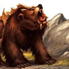 Dire Bear 5e Creature Dd Wiki
