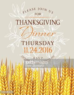 Printable Thanksgiving Invitation  Thanksgiving And Thanksgiving