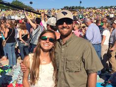Enjoying the Southern Ground Festival this weekend! #Charleston #Country — with Lizzy Reed.