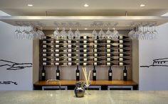 the tasting room at Wines Tasting Room, Wine Country, Wine Rack, Wines, Beautiful Places, Wine Cellars, Cabinet, Storage, Furniture