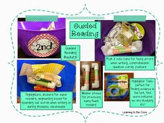 Take a look at my guided reading buckets for various reading levels!
