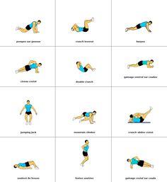 12 exercices pour maigrir