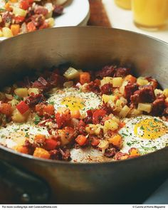 Corned Beef Hash | Cuisine at home eRecipes