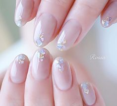 In search for some nail styles and ideas for your nails? Here's our list of must-try coffin acrylic nails for cool women. Cute Nail Art, Cute Nails, Pretty Nails, Bling Nails, Red Nails, Pastel Nails, Elegant Bridal Nails, Nagel Bling, Korean Nail Art