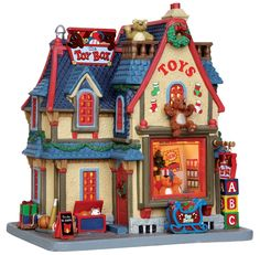 Christmas village. The Toy Box