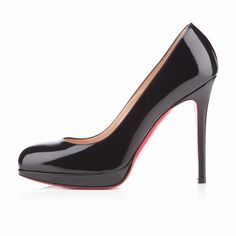 5dfda76ca6c Round toe solid high heels party shoes nightclub women s pumps Black Patent  Leather