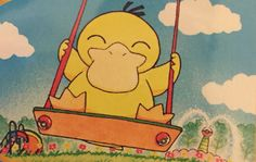 Psyduck Pokemon Cards, One Pic, Princess Peach, Illustrations, Board, Fictional Characters, Illustration, Fantasy Characters, Planks